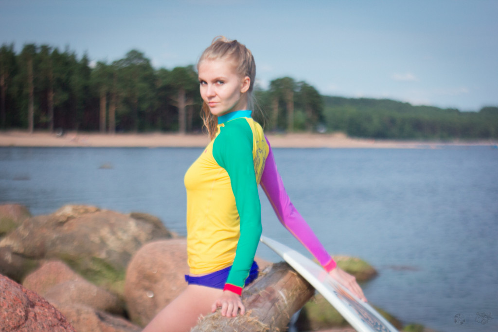 Olya for Mysovskiy Surf Apparel. Cape Flotskiy 2015